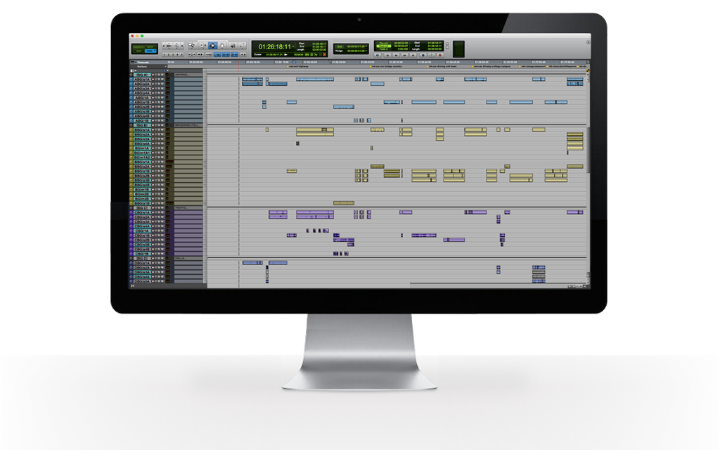 Pro Tools Session Template