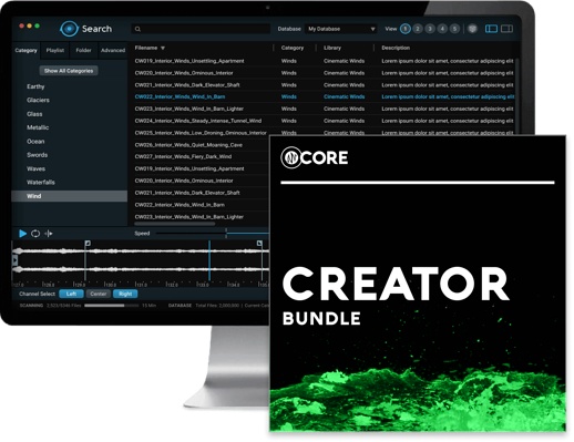 CORE Creator - Features